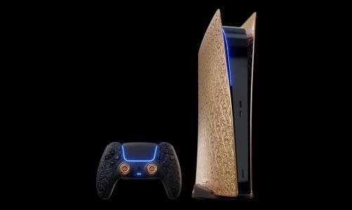 Ако се чудите къде да вложите 250 000 долара, пробвайте с позлатена версия на PlayStation 5