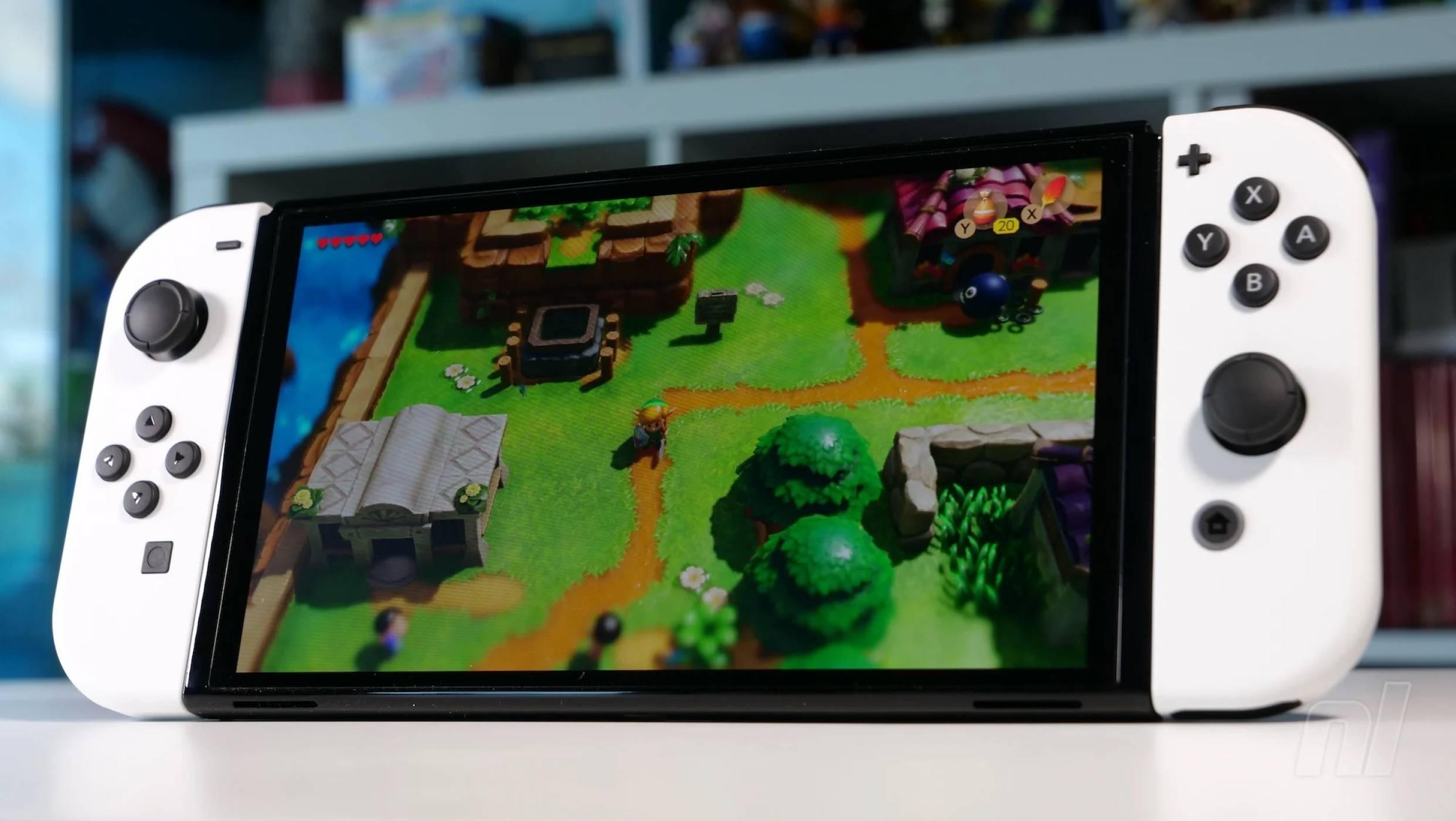 Пазете протектора на вашия Switch OLED, за да пази той конзолата ви