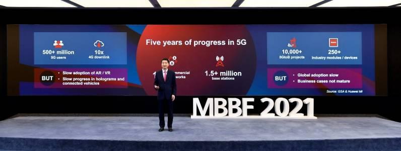 Кен Ху от Huawei призова ИКТ индустрията да обедини усилия за следващия етап от развитието на 5G