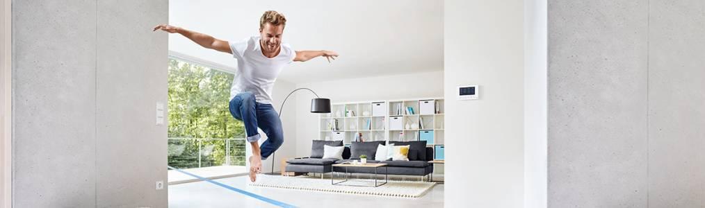 Свободни вкъщи, или как домът се грижи за нас чрез системата ABB free@home