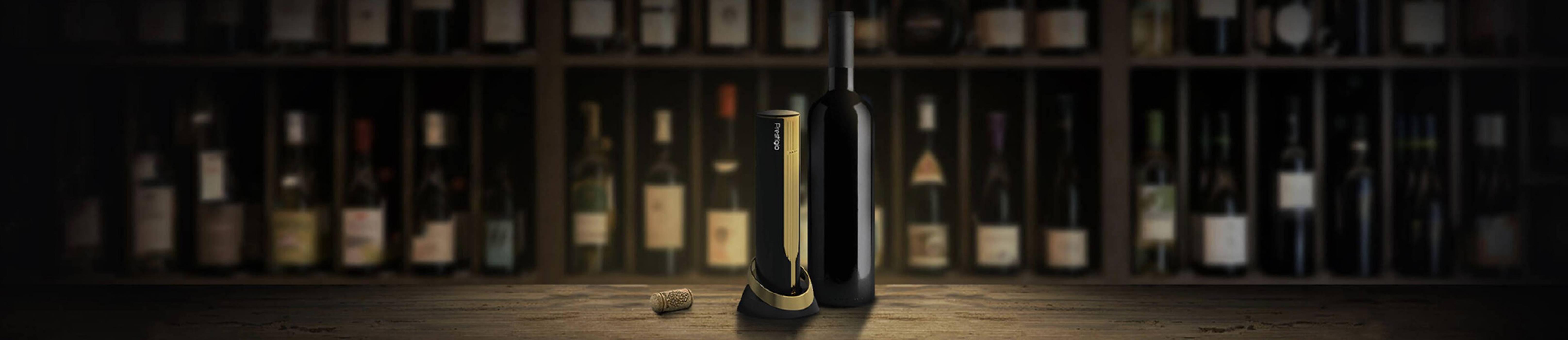Насладете се на виното с финес и... електрическа отварачка за вино от Prestigio!