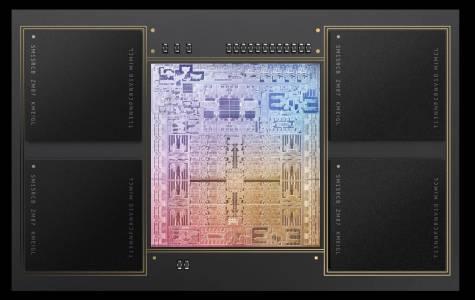 M1 Max GPU е с мощност, равна на тази в Nvidia RTX 2080 и PS5