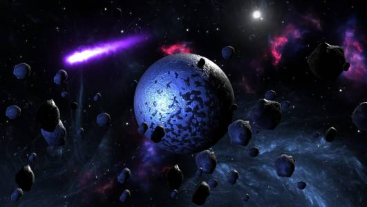 Астероид профуча опасно близо покрай Земята