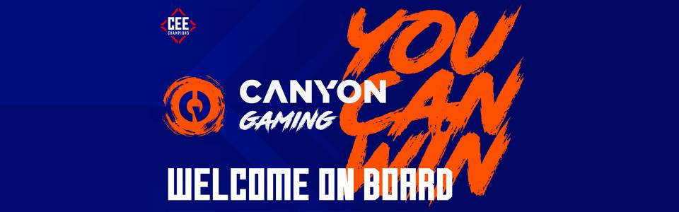 Canyon Gaming е официален партньор на Counter-Strike: Global Offensive