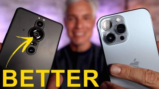 Sony Xperia Pro-I и iPhone 13 Pro в сблъсък на камерите, от който ще оцелее само един (ВИДЕО)